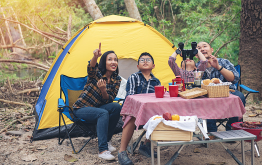 Le plaisir de camper en vacances!